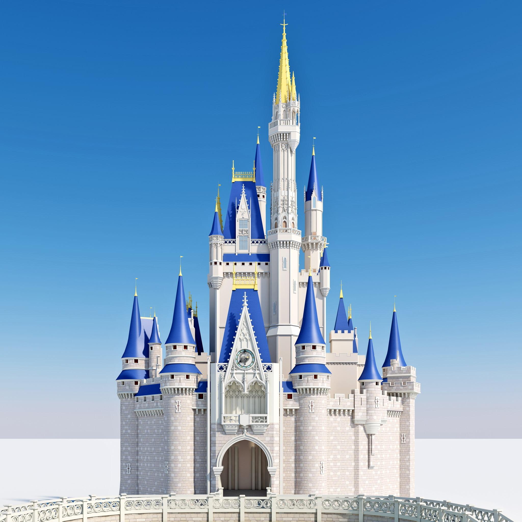 cinderella castle 3d model best of 3d models