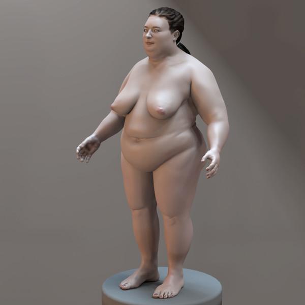 Big Nude Woman 3d model | Best Of 3d Models