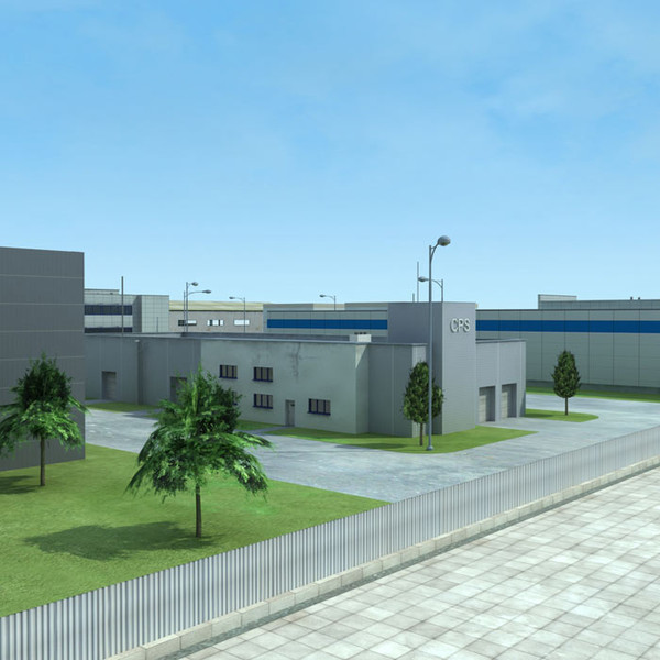 Warehouses Industrial Plant 3d model | Best Of 3d Models