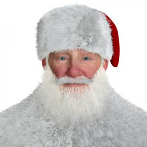 santa claus high resolution 3d model turbosquid