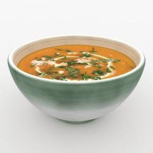 lentil soup 3d model turbosquid