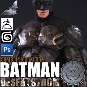 3d model of Batman