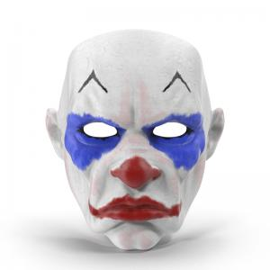 clown mask 3d model turbosquid