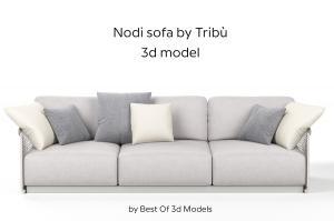 nodi sofa 3d model tribu