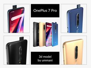 one plus pro 3d model turbosquid