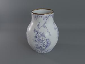 chinese jar 3d model cubebrush