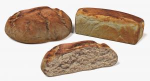 Bread 3d models