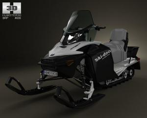 brp skidoo expedition sport 3d model turbosquid