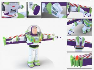 buzz lightyear 3d model turbosquid