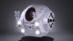 eva pod 3d model edexport