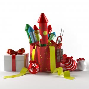 christmas toys 3d model 3d export