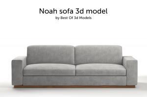noah sofa 3d model
