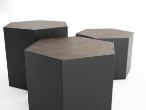 freecrate & barrel geo polygonal table 3dmodel
