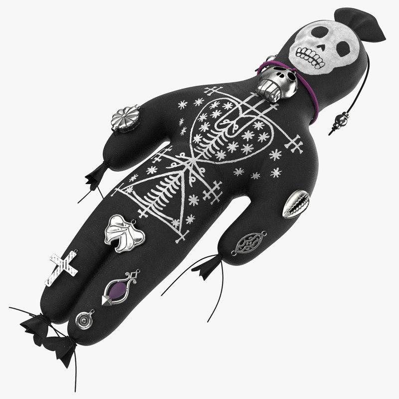 3d model voodoo doll