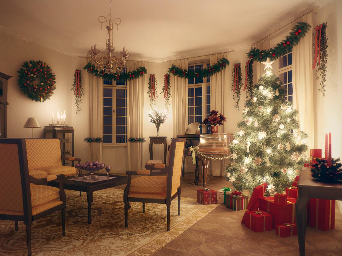 christmas decorations 3d models