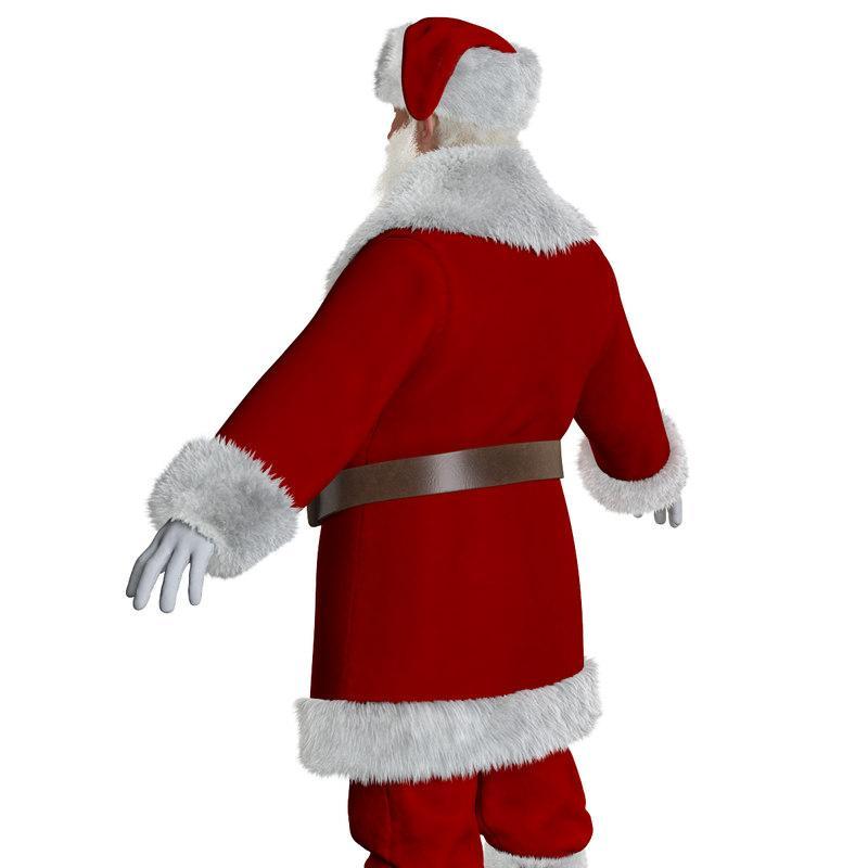 Christmas Santa Claus 3D Model turbosquid