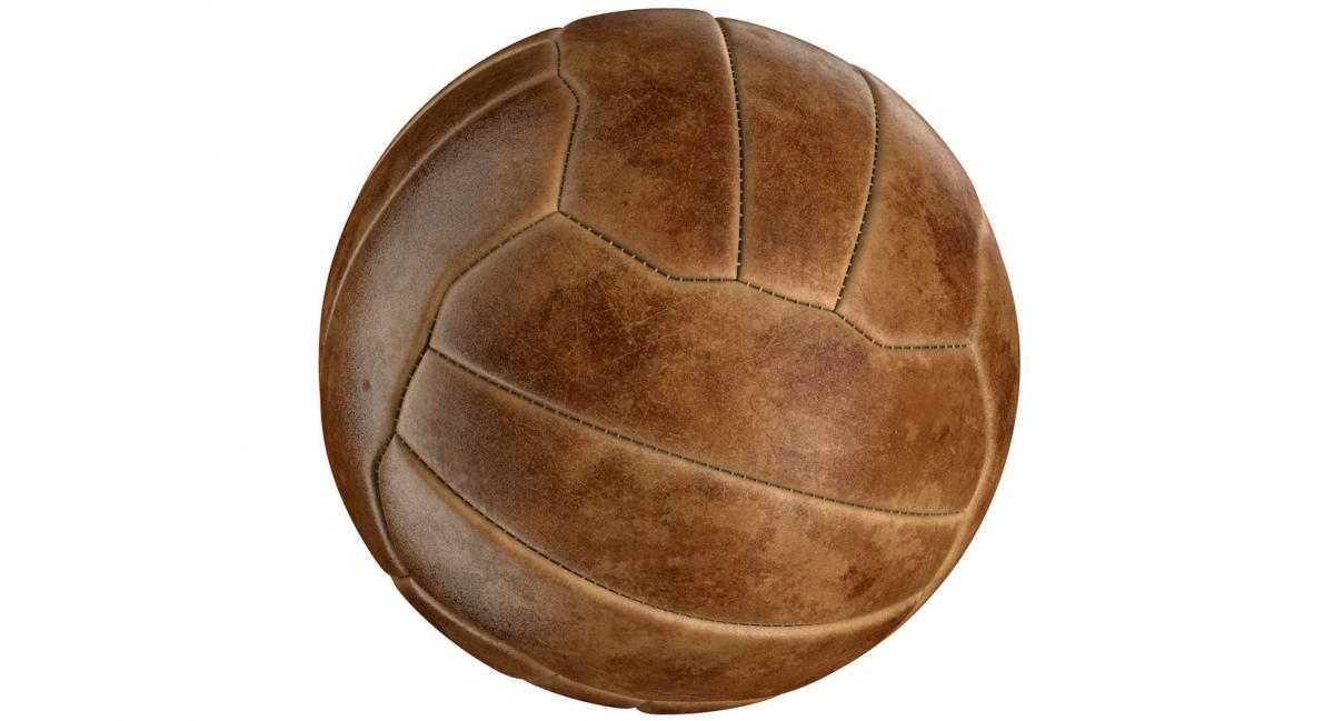vintage sports ball 3d model turbosquid