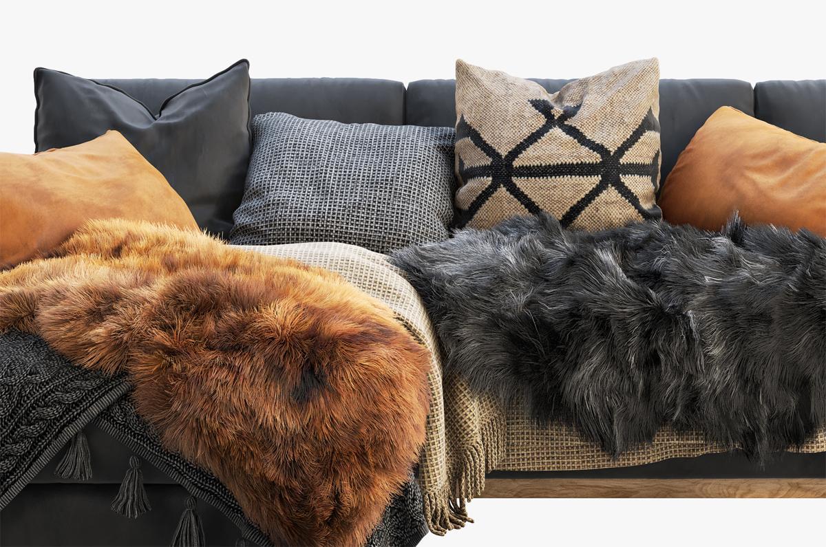 scandinavian sofa 3d model turbosquid