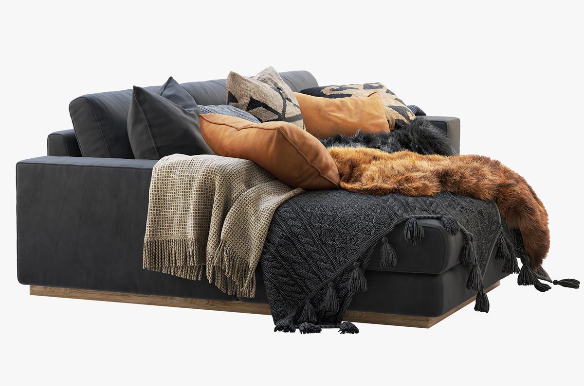living room furniture 3d model sofa turbosquid