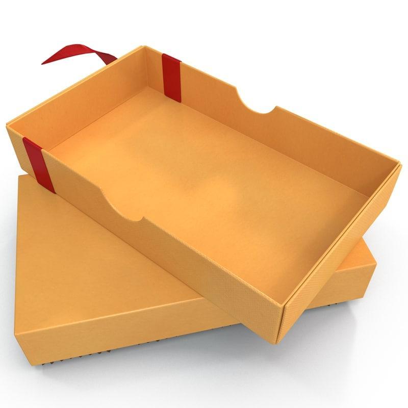 box 3d model turbosquid