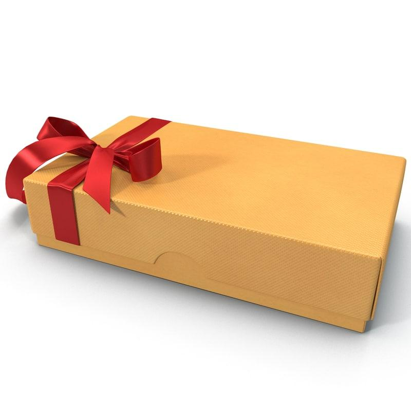 valentine gift box 3d model turbosquid