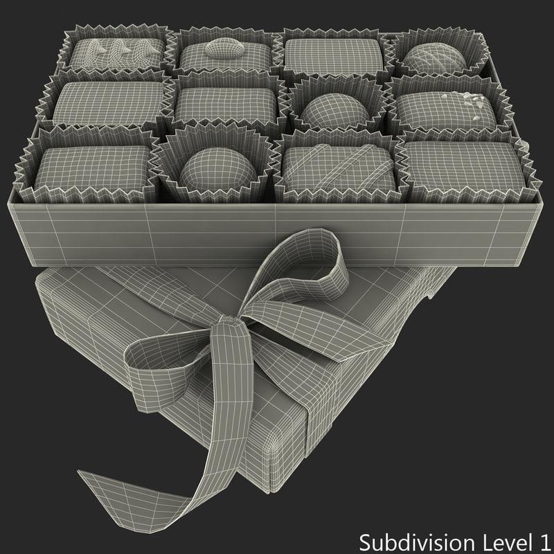 valentine's day gift 3d model turbosquid