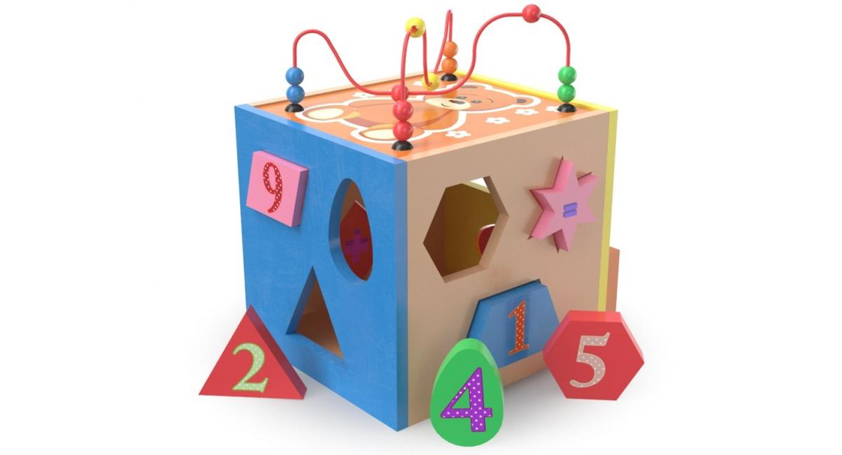 shapes toy 3d model turbosquid