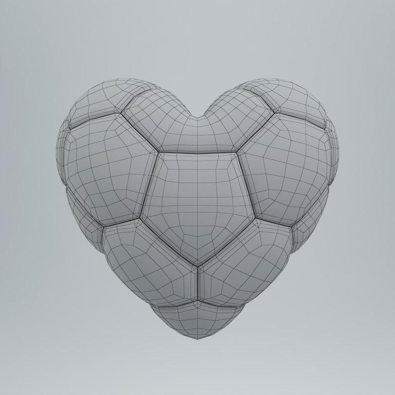 soccer player gift 3d model turbosquid