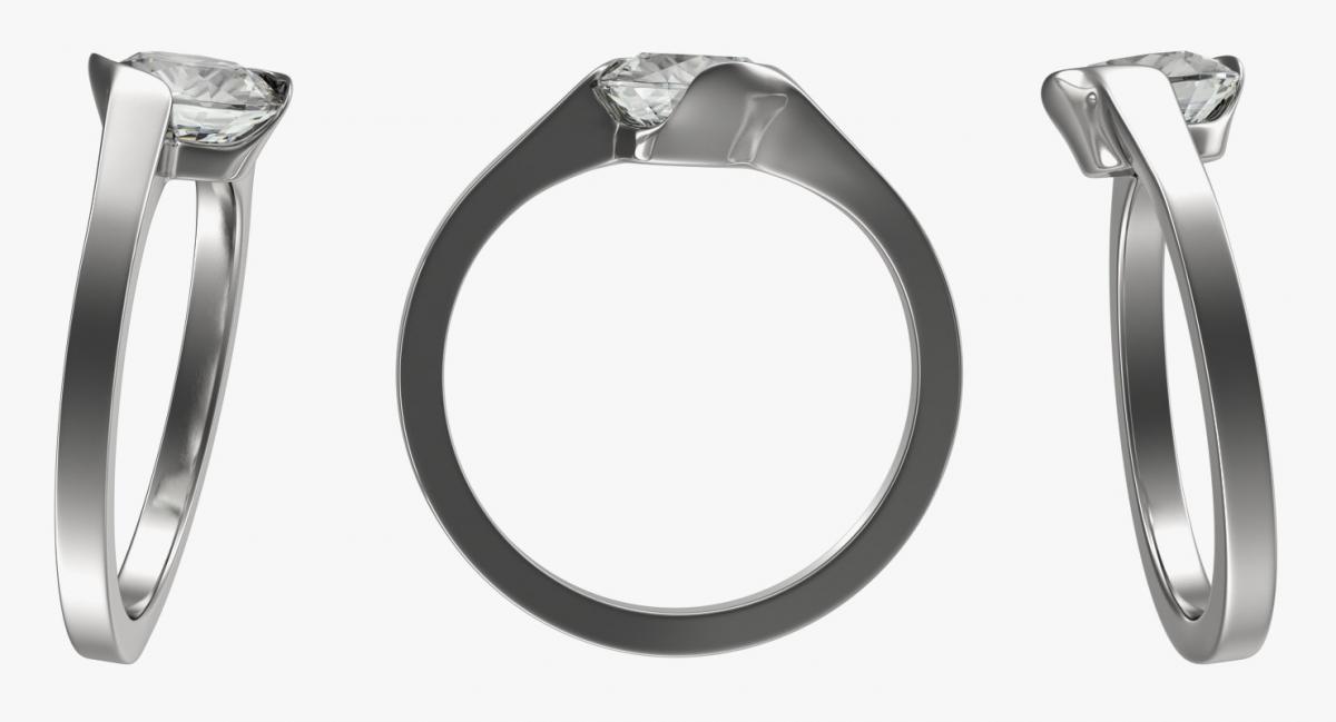 silver ring 3d model turbosquid