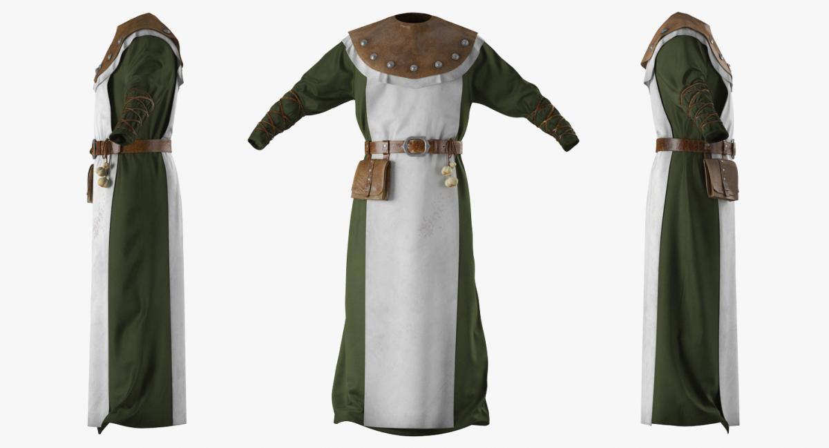 costume plague doctor 3d model turbosquid