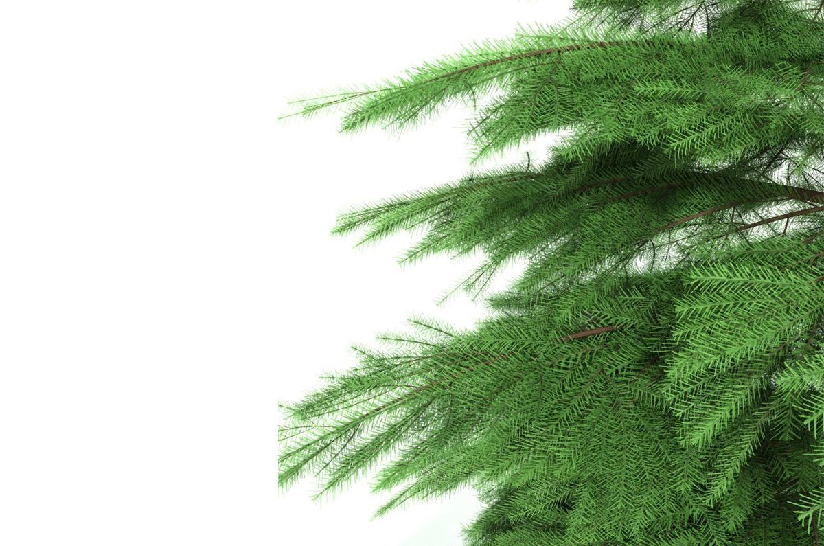 christmas tree animated 3d model 3dexport