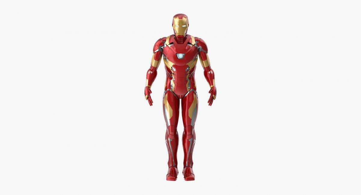 iron man rigged 3d model turbosquid