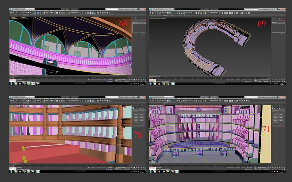 interior design of an opera 3d model turbosquid