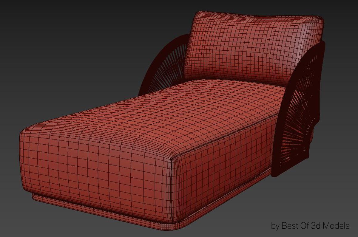sofa bed 3d model restoration hardware