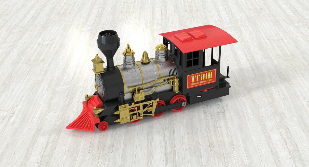 steam locomotive 3d model turbosquid