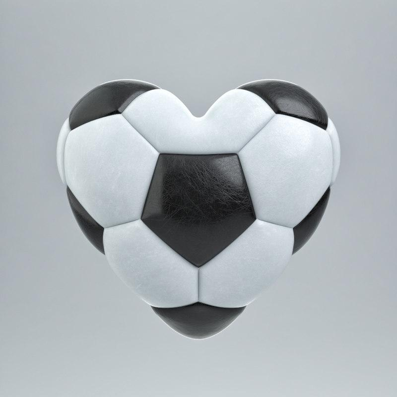 soccer ball 3d model turbosquid