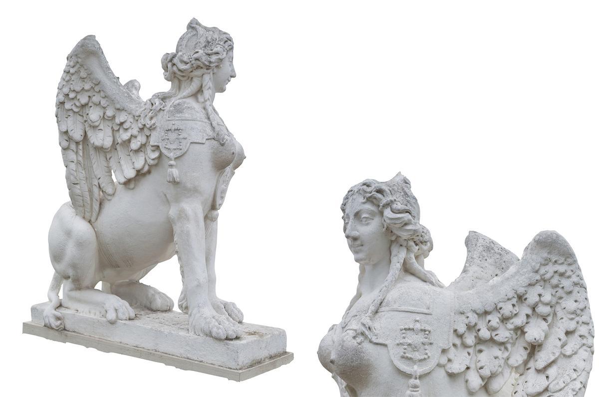 Crouching sphinx Venus Statue scanned 3d model turbosquid