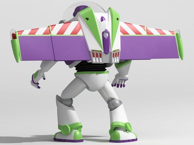buzz character 3d model 3dexport