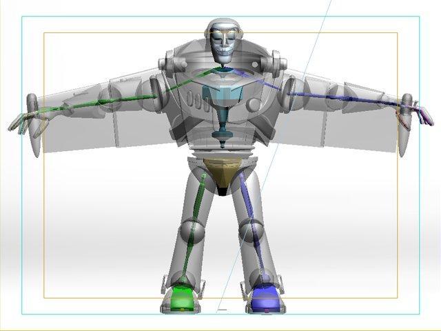 buzz rigged 3d model 3dexport