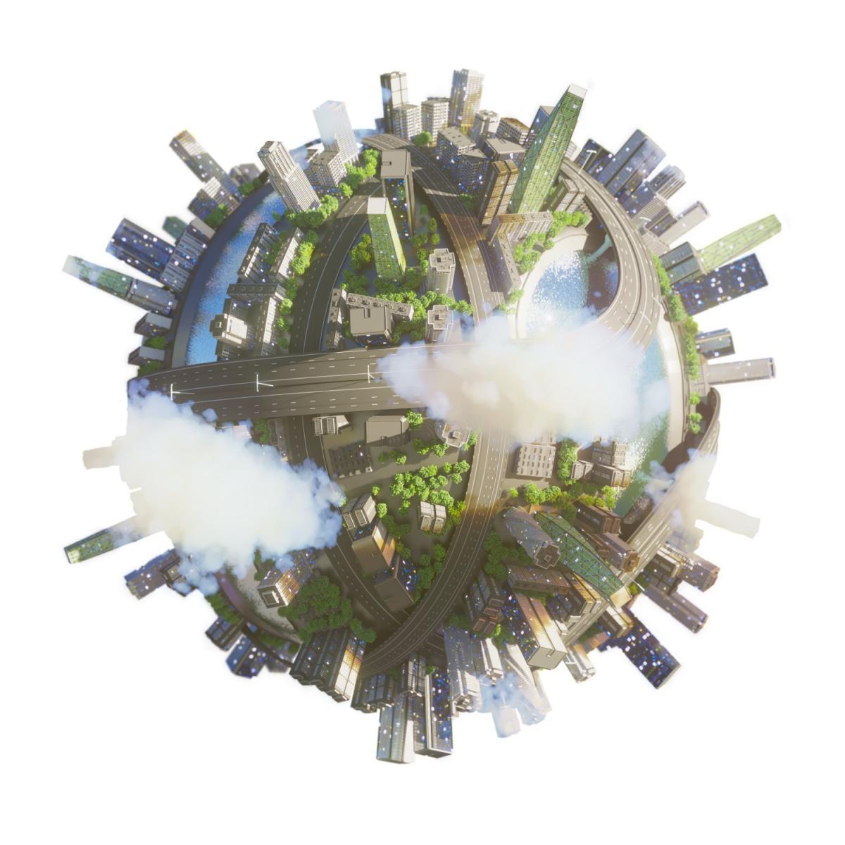 urban design city 3d model 3dexport