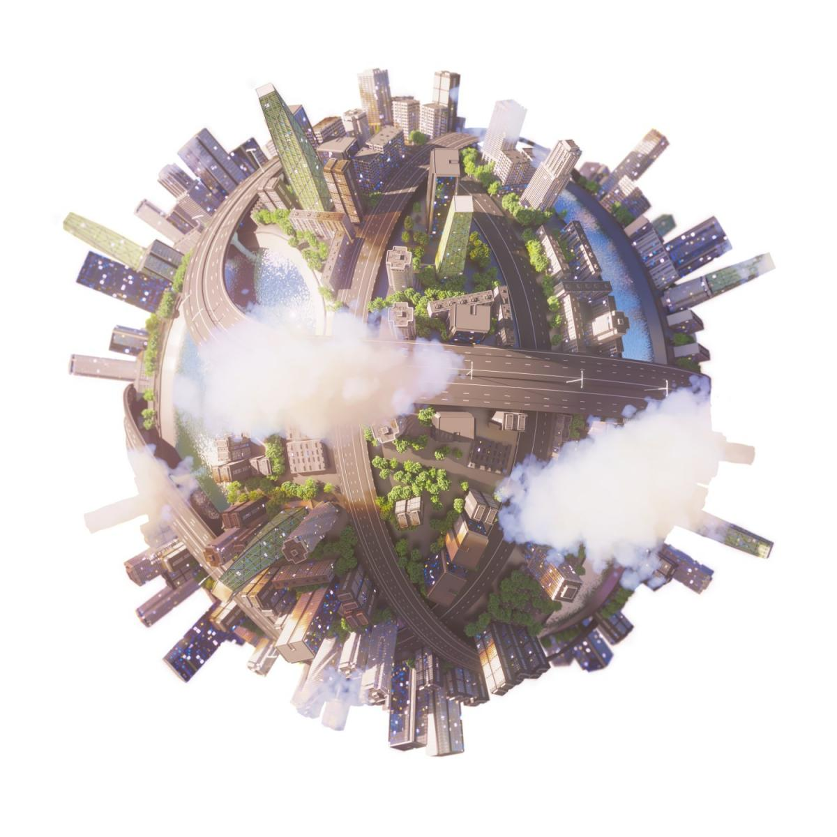 realistic world 3d model 3dexport