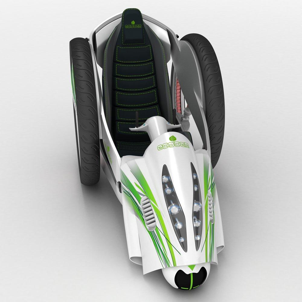 eco car 3d model 3dexport
