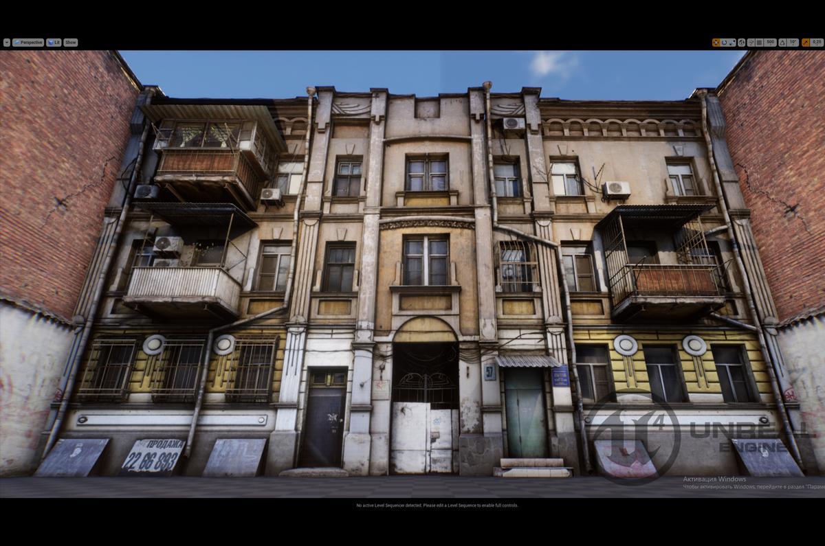 Photorealistic European Buildings 3d model turbosquid