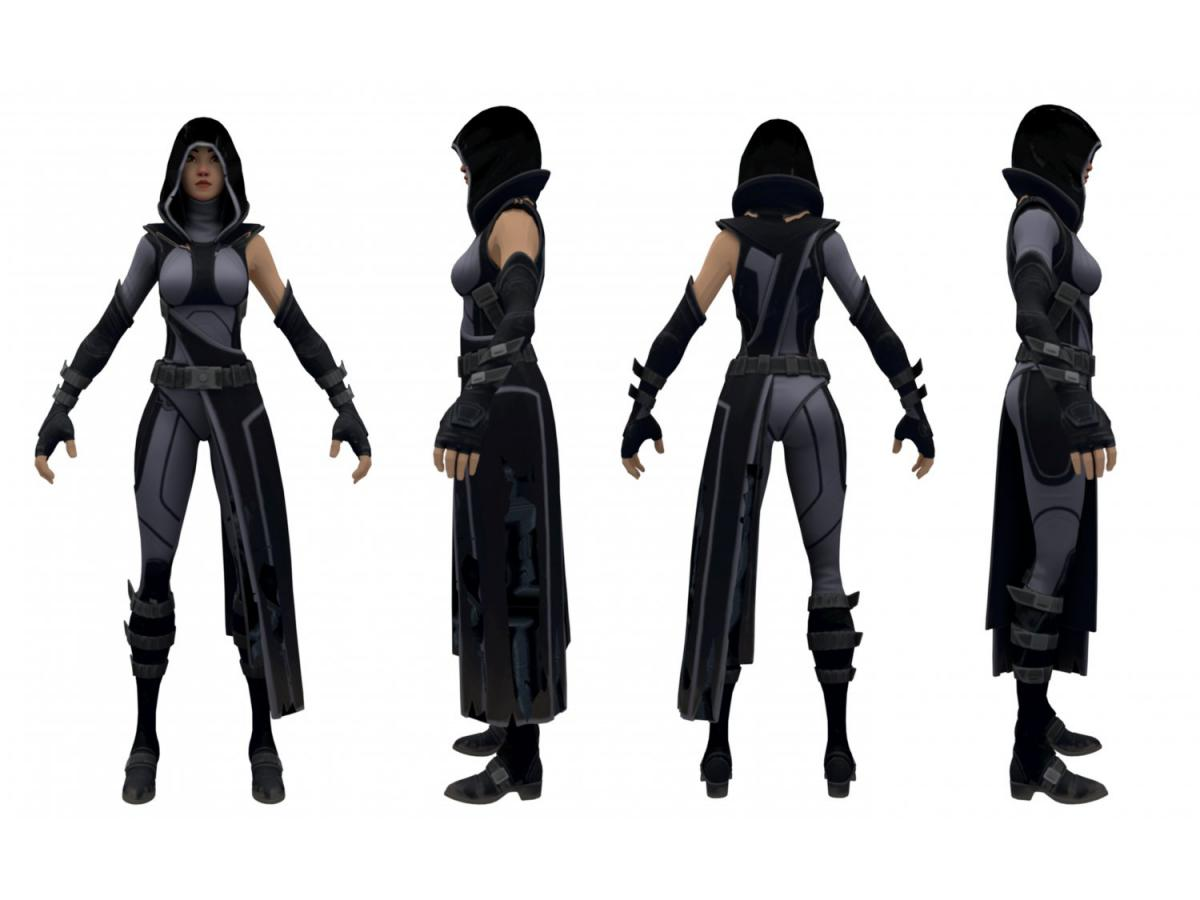 fortnite fate character 3d model 3dexport