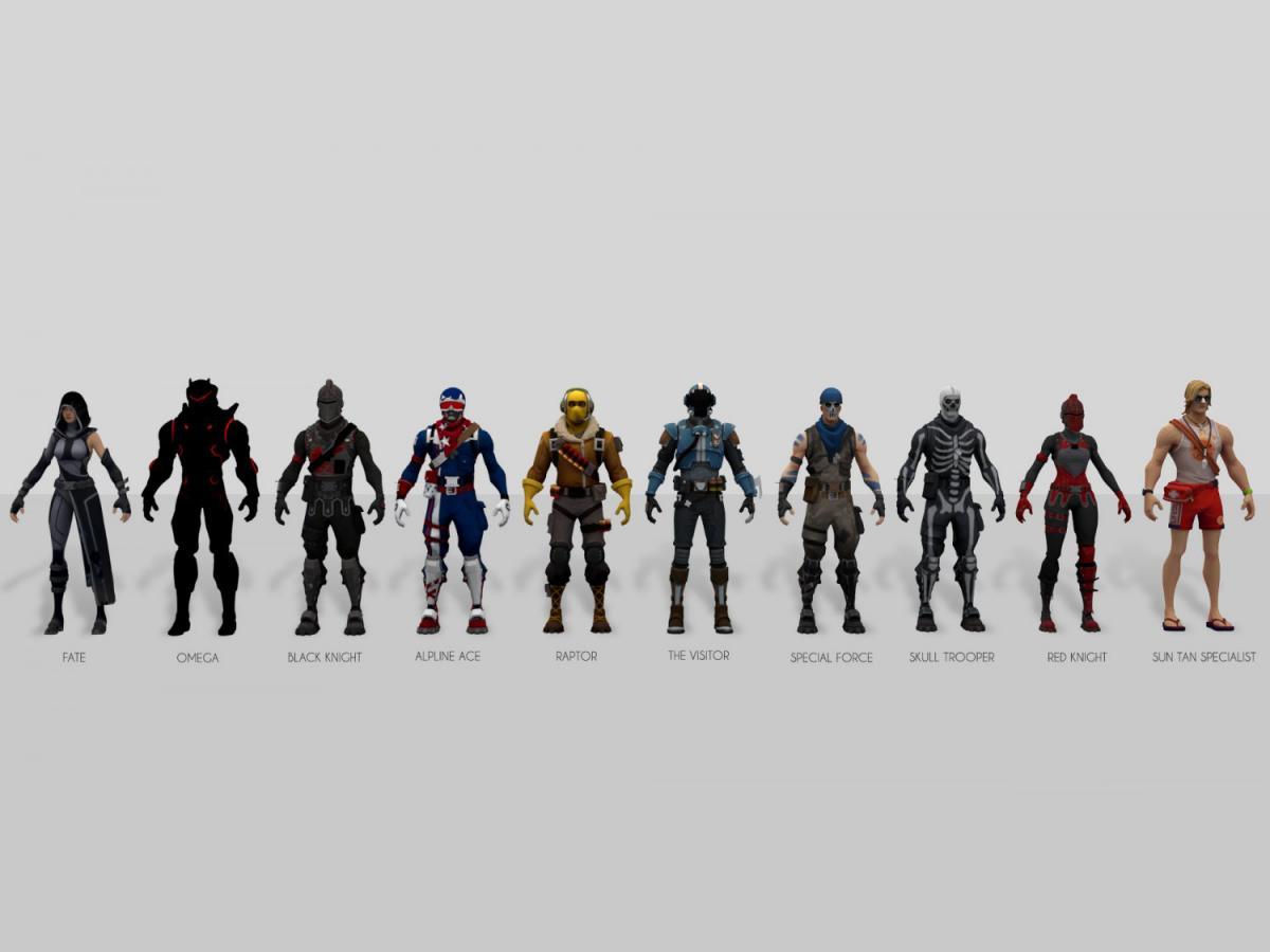 fortnite 3d models 3dexport