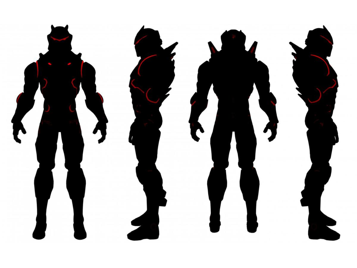 fortnite omega character 3d model 3dexport