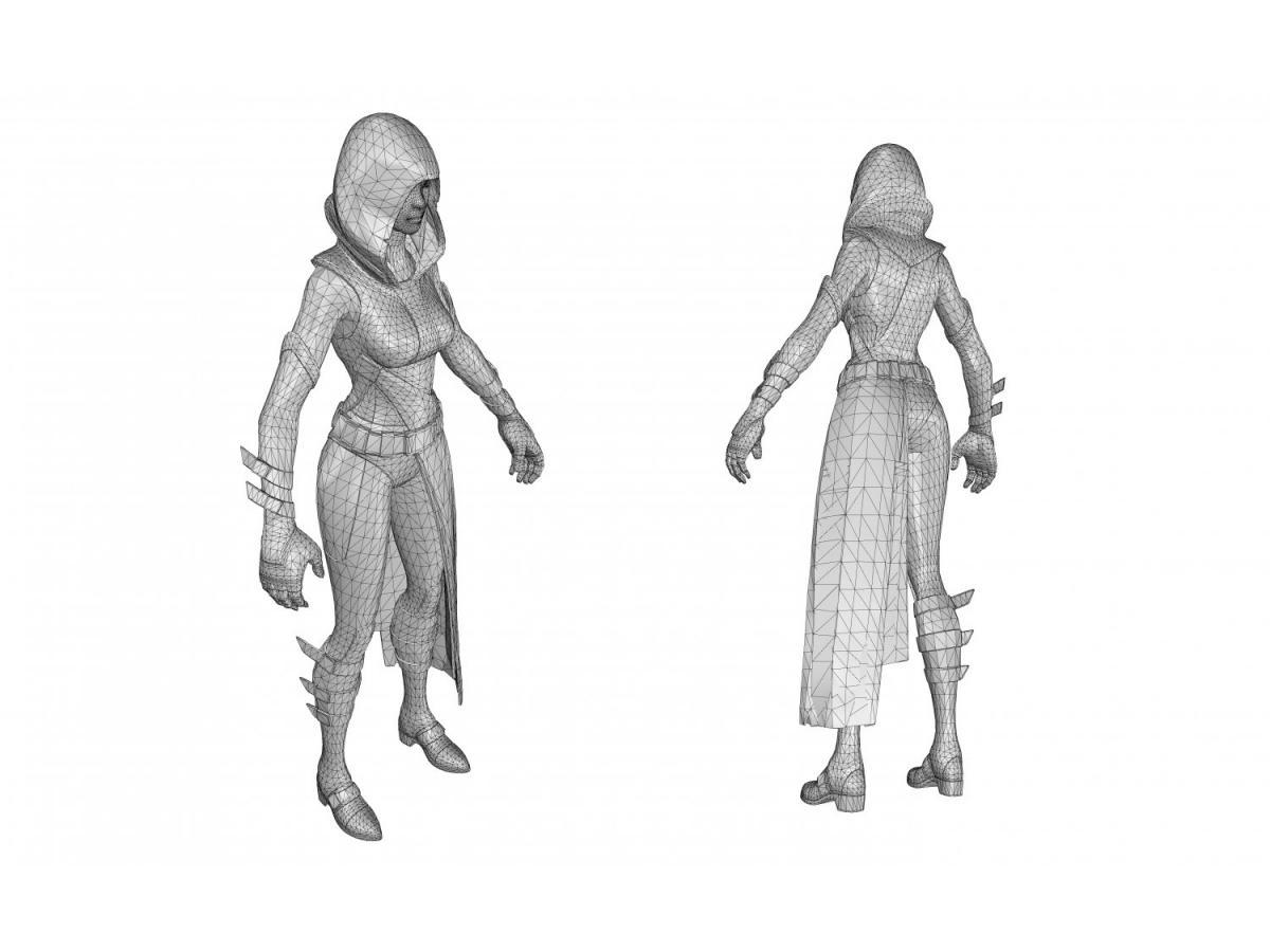 fortnite outfits 3d model 3dexport