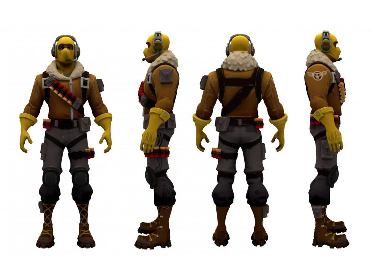 fortnite raptor character 3d model 3dexport