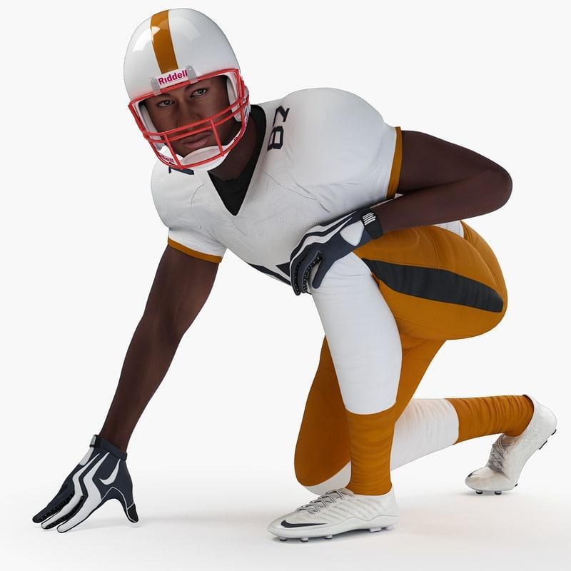 football player 3d model turbosquid