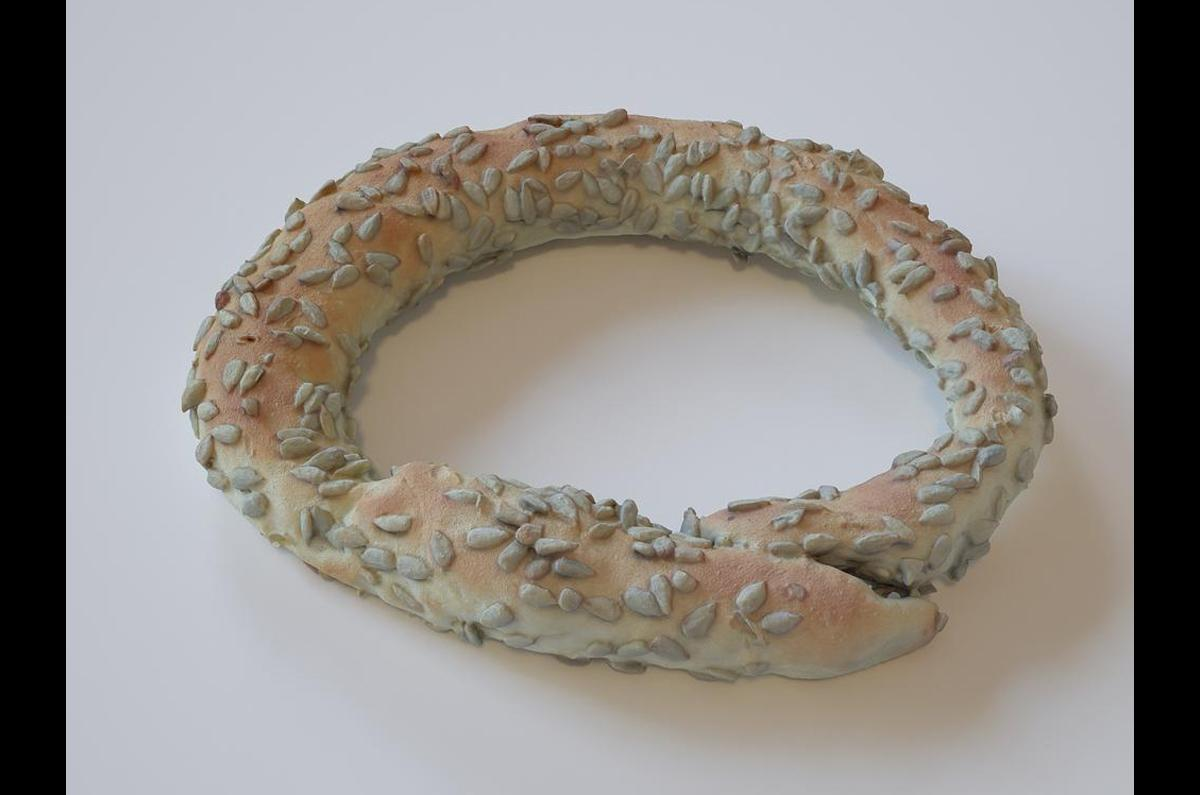 Greek Sesame Bread rings 3d scanned model